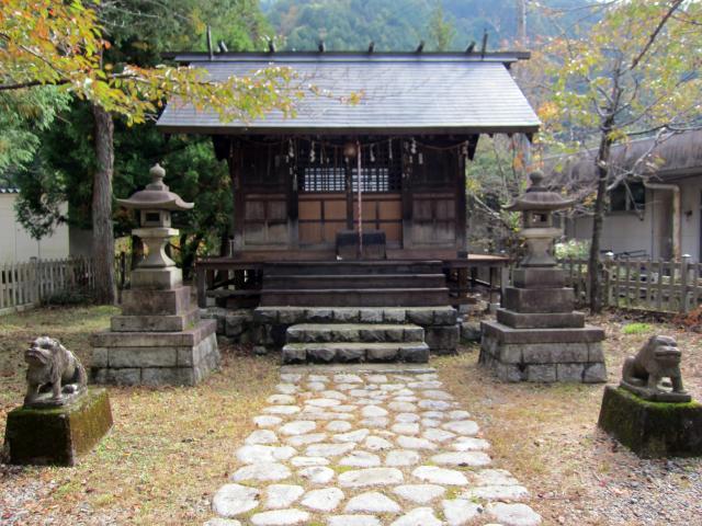 栃木県通洞鉱山神社の本殿