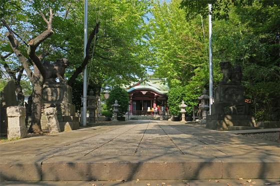 市谷亀岡八幡宮(東京都市ケ谷駅) - その他建物の写真