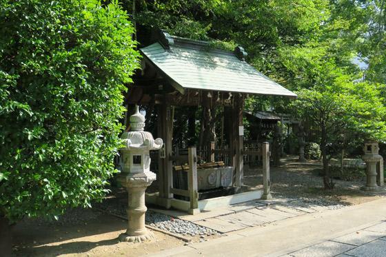 市谷亀岡八幡宮(東京都市ケ谷駅) - 手水舎の写真