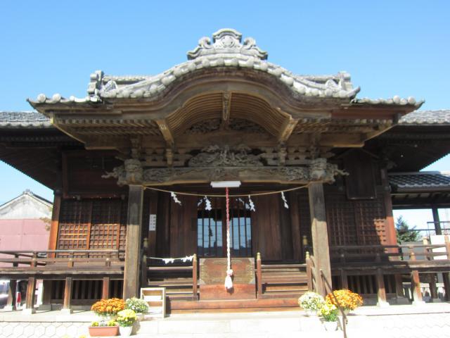 群馬県諏訪神社の本殿