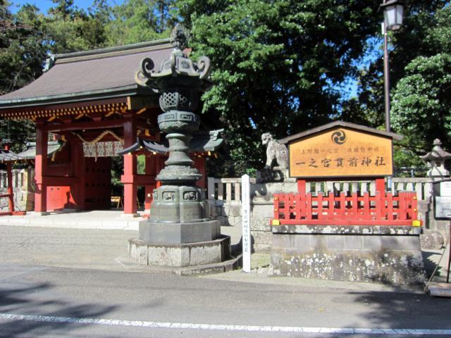 群馬県一之宮貫前神社の本殿