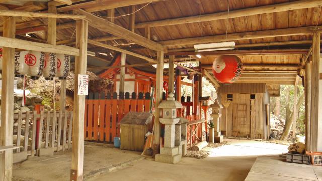 賀茂別雷神社(上賀茂神社)の近くの神社お寺|二葉姫稲荷神社