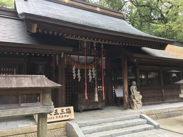 不乗森神社の本殿