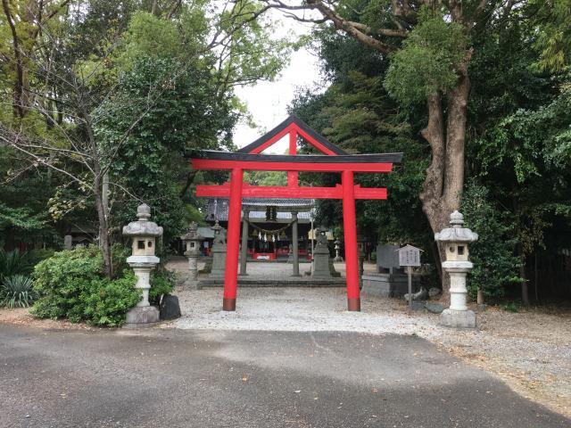 不乗森神社の鳥居