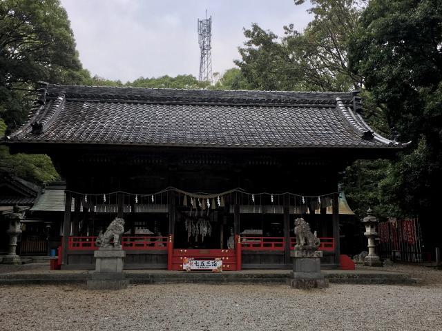 愛知県不乗森神社の本殿