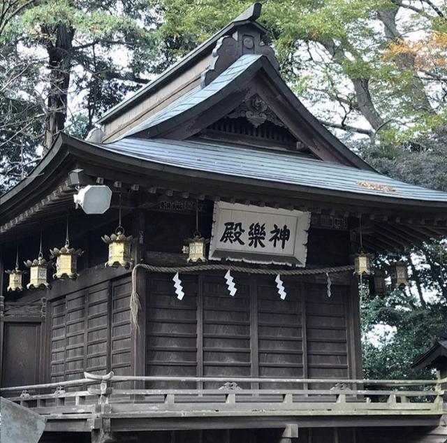 茨城県大宝八幡宮の本殿