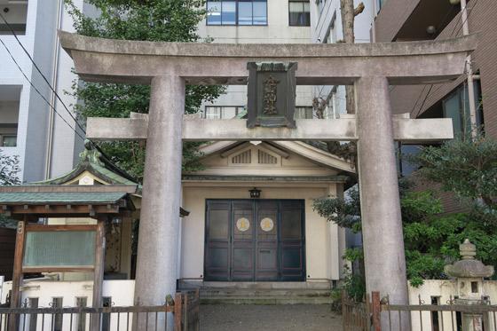 金山神社の鳥居