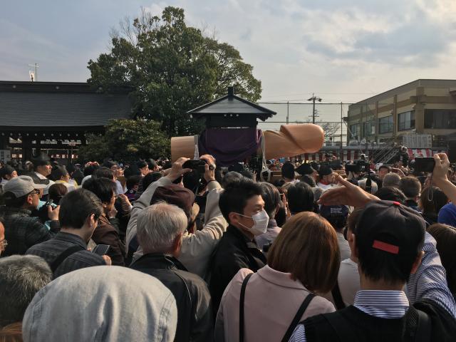 田縣神社のお祭り