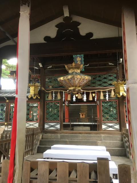 京都府御香宮神社の本殿