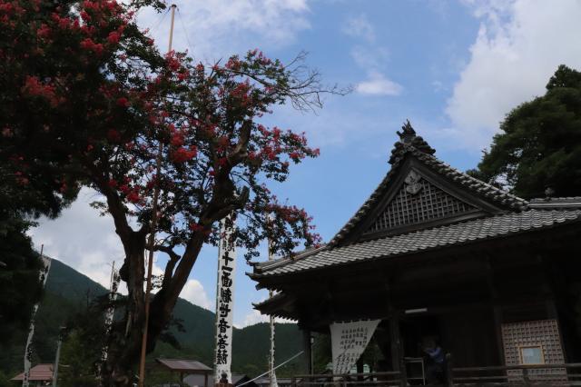 岐阜県円教寺(白谷観音)の本殿