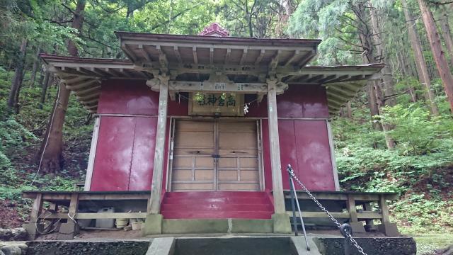 高倉神社の本殿
