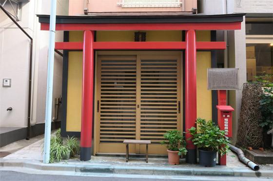 福田稲荷神社の本殿