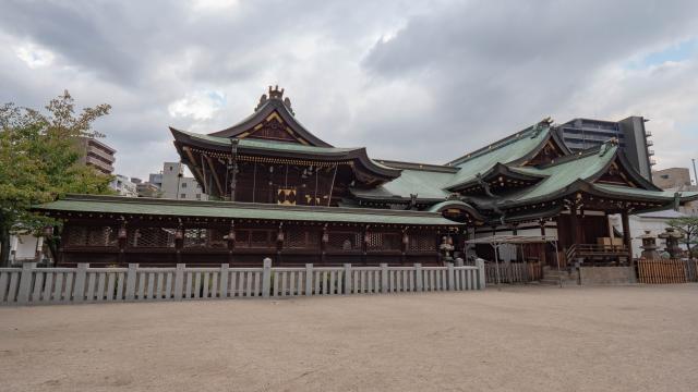 大阪府大阪天満宮の本殿