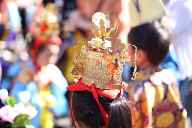 広福寺のお祭り