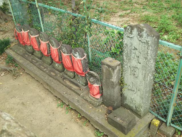 愛宕神社(蒲生一里塚)(埼玉県新田駅) - 地蔵の写真