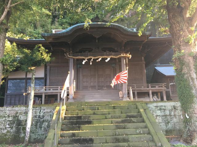 静岡県阿治古神社の本殿
