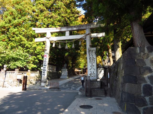 長野県諏訪大社下社春宮の本殿