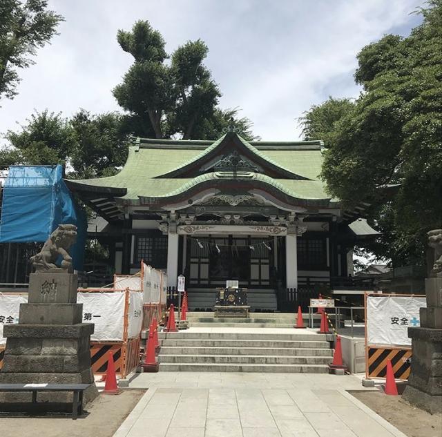 東京都亀有香取神社の本殿