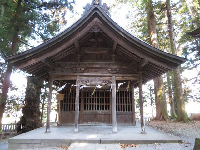 長野県諏訪大社上社本宮の本殿