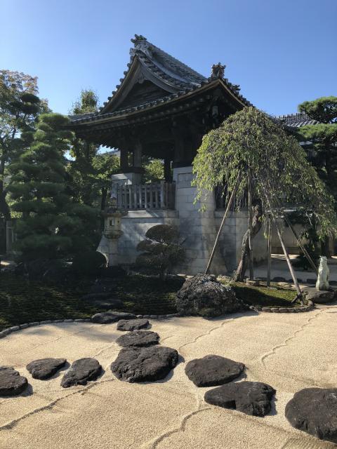 養泉寺の庭園