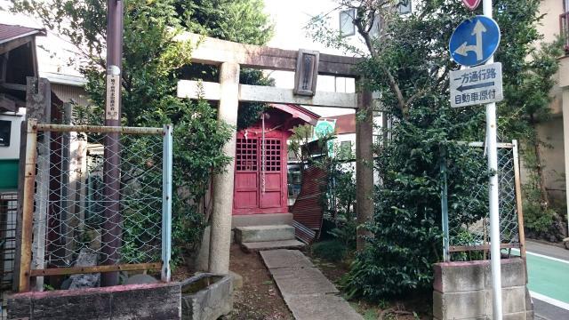 笠間稲荷神社の鳥居