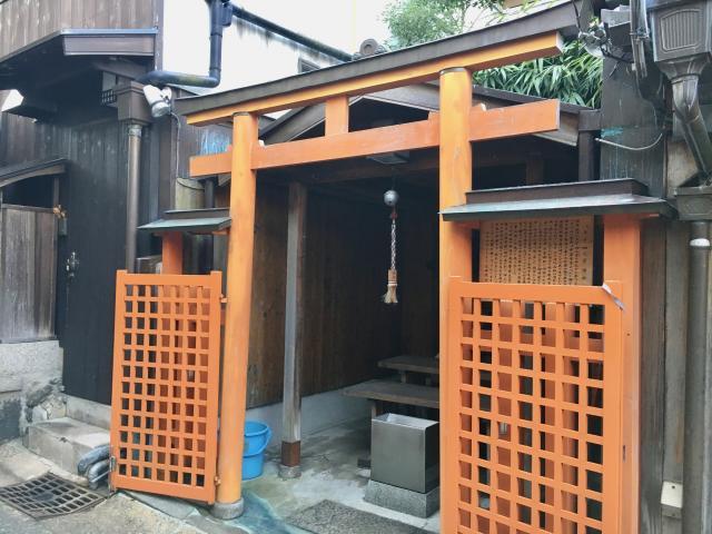 奈良県八王子四之室神社の鳥居
