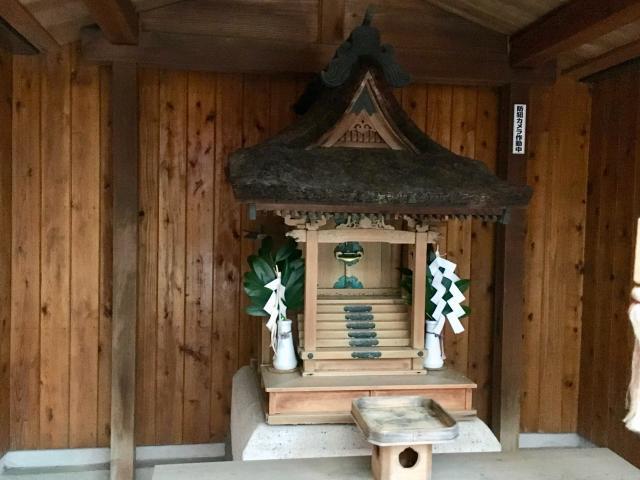 奈良県八王子四之室神社の本殿