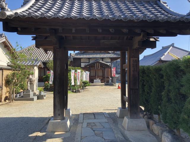 竜華寺の山門