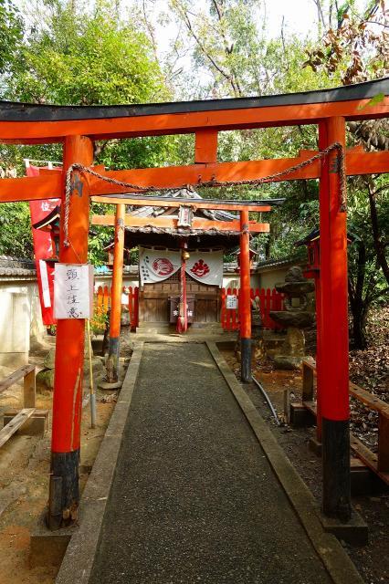 大阪府蹉跎神社の鳥居