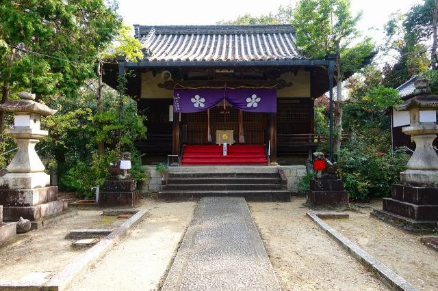 大阪府蹉跎神社の本殿