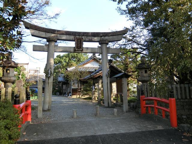 常葉神社の鳥居