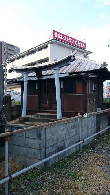 埼玉県石田神社の本殿