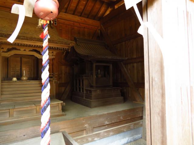 静岡県杉桙別命神社の本殿