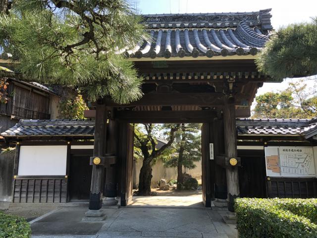 樹敬寺の山門