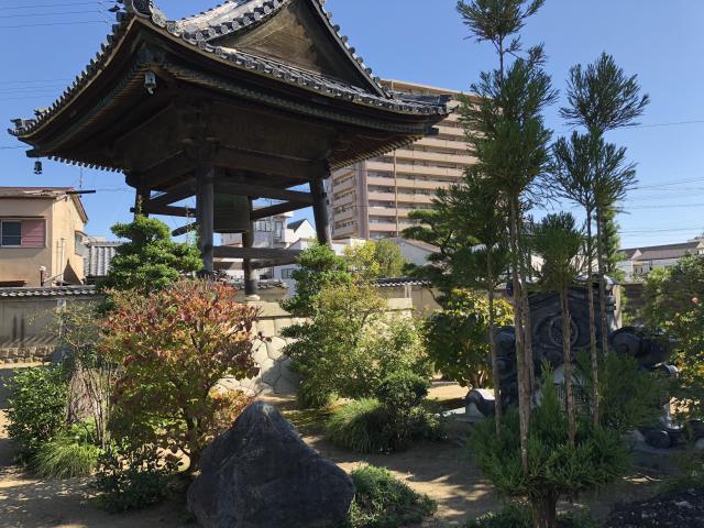 樹敬寺の庭園