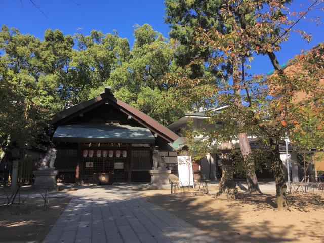 愛知県那古野神社の本殿