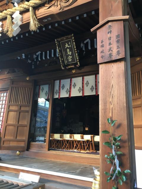 東京都大鳥神社の本殿
