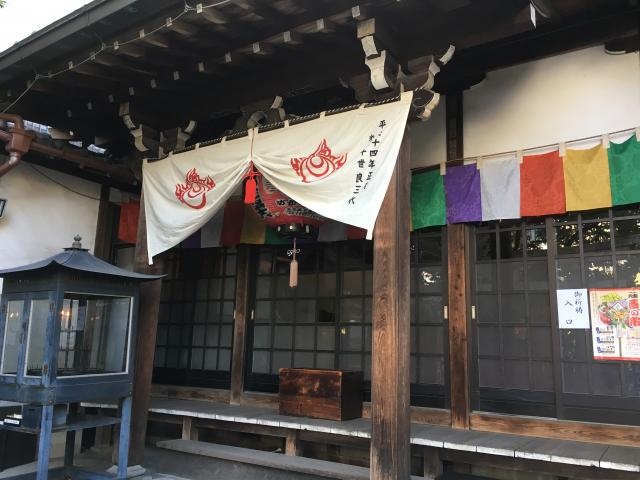愛知県七寺の本殿