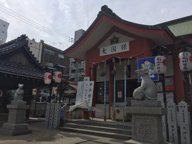 大阪府敷津松之宮の本殿