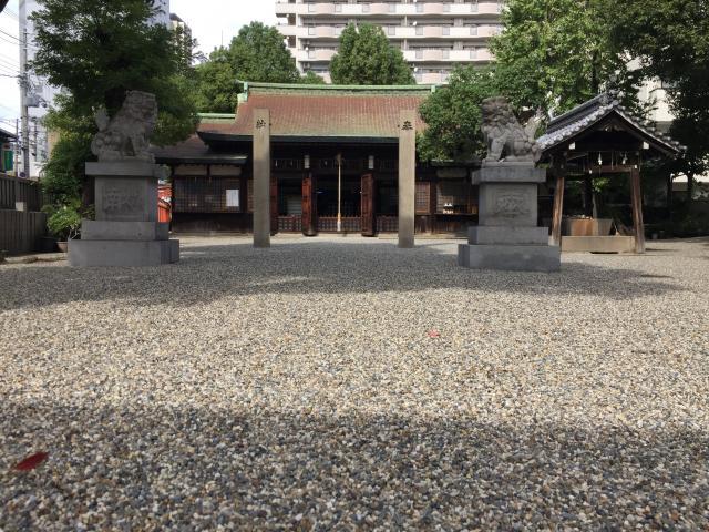 廣田神社の狛犬