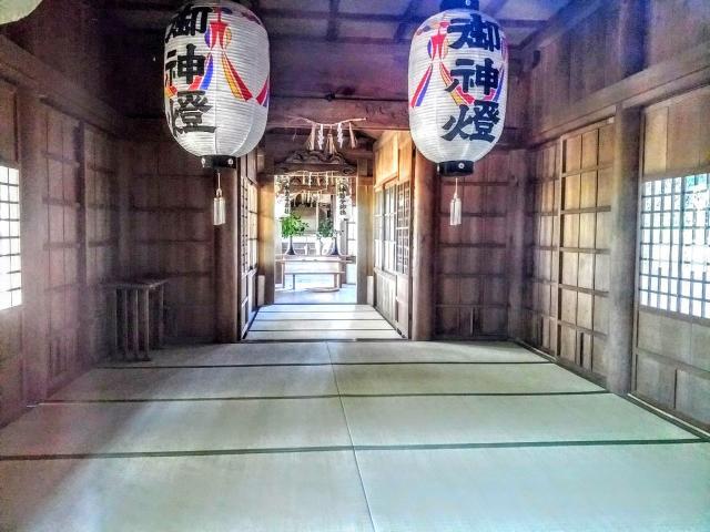 林若子社の本殿