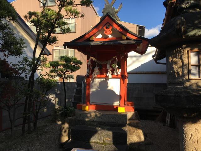 奈良県猿田彦神社 (道祖神社)の本殿