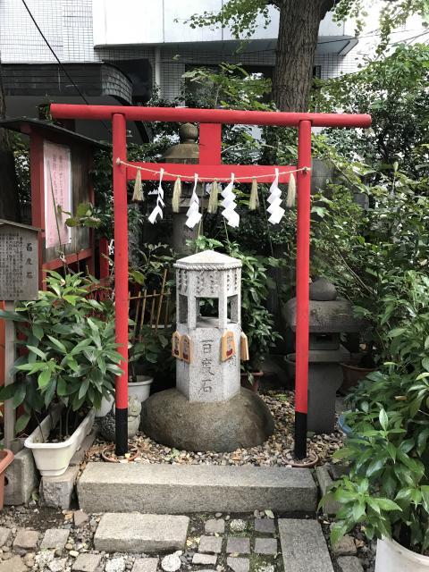 東京都三崎稲荷神社の鳥居