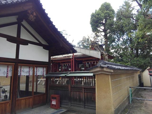 率川神社の本殿
