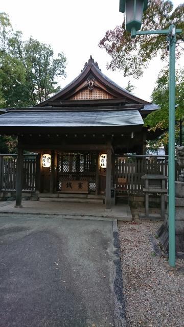 愛知県深川神社の本殿