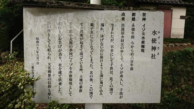 水使神社の歴史