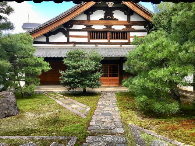 京都府常光院の庭園