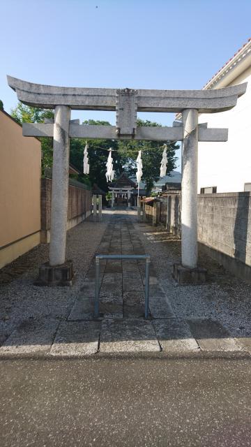 大手神社の鳥居