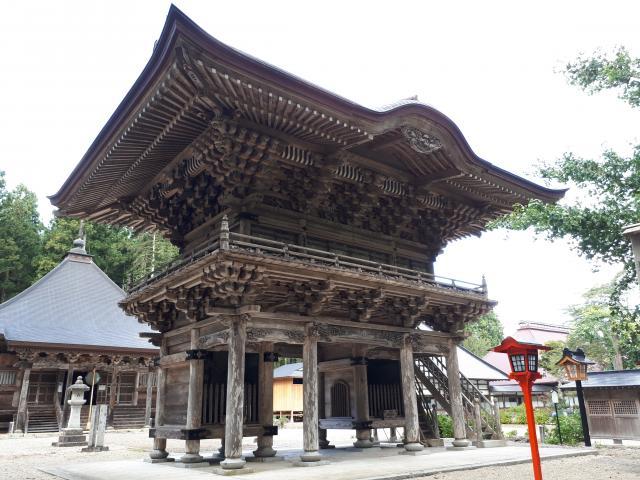 岩手県清水寺の本殿