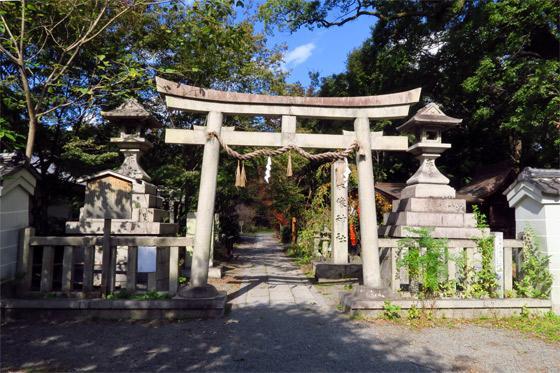 京都府宗像神社の鳥居